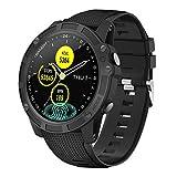 【Neuestes Modell】 Antimi Smartwatch, Bluetooth Smart Watch Fitness Tracker Armband Sport Uhr Pulsuhren Schrittzähler mit IP68 Wasserdicht Schwimmen Blutdruckmessung Blutsauerstoff für iOS Android
