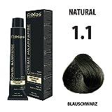 Femmas Hair Color Cream 100ml Haarfarbe (Blauschwarz 1.1)