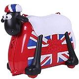 Shaun das Schaf Kinderkoffer (England Flagge)