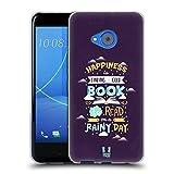 Head Case Designs Buch Abbildungsbuchdruckerkunst Soft Gel Hülle für HTC U11 Life