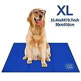 Bravpet Kühlmatte für Haustiere Haustier Selbstkühlendes Pad Matte Bettmatten Komfort für Katzen und Hunde (XXL)