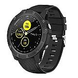 【Neuestes Modell】 Smartwatch,Antimi Fitness Uhr Bluetooth Smart Watch Fitness Tracker mit Pulsuhr Schrittzähler Blutdruckmessung und Sportuhr IP68...