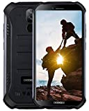 DOOGEE S40 4G Outdoor Smartphone ohne Vertrag, Android 9,0 Handy ohne Vertrag Dual SIM 3GB+32GB, IP68 Wasserdicht 5,5 inch 4650mAh Quadcore, 8MP+5MP Dual...