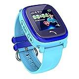 JBC GPS-Telefon Uhr Wasserdicht OHNE Abhörfunktion, für Kinder, SOS Notruf+Telefonfunktion, Live GPS+LBS Positionierung, funktioniert weltweit, Anleitung + App + Support auf deutsch