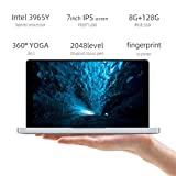Sixcup Mini 7 Zoll Touchscreen Laptop Tablet Fur ONE-Netbook One Mix 1S,Intel Core 3965Y,Dual Core, 1,5 GHz,8 GB RAM +128 GB PCI-E SSD,6500mAh Batterie,Dualband...