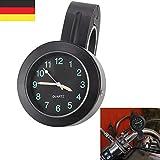 BALLSHOP 7/8 '' Motorraduhr Uhr Uhren Clock Für Motorrad Fahrrad Lenkeruhr wasserdicht