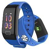 Fitness Armband, Fitness Tracker Wasserdicht IP67 Aktivitätstracker mit Herzfrequenz Schrittzähler Schlafmonitor und Kalorienzähler, Schrittzähler Uhr Damen Herren und Kinder mit iPhone Android Handy