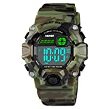 CakCity Jungen Armbanduhren Digital Sportuhr Outdoor Wasserdicht Stoßfest Digitaluhren Uhren für Kinder