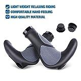 OUTERDO Fahrradgriffe,Rutschfester Ergonomische Griffe,Comfort Wasserbeständige Lenkergriff Entwickelt für MTB BMX Radfahren