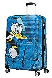 American Tourister - Disney Wavebreaker Spinner 77/28 Koffer, 77 cm, 96 L, Donald Duck