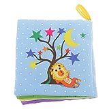 MagiDeal Bild Buch Stoffbuch Erkennungsbuch Tuch Bücher Stoffbücher mit Ton Baby Kind Pädagogisch Spielzeug - Formen