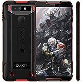 """Cubot Quest (2019) Ultra Dünn Android 9.0 4G Dual SIM IP68 Wasserdicht Sport Outdoor Smartphone ohne Vertrag, 5.5"""" HD+ Display mit 4000 mAh Akku, 4GB Ram+64GB Rom, 12MP+2MP / 8MP, NFC (Schwarz+Rot)"""