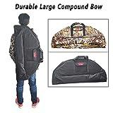 Compoundbogen Fall Bogenschießen Durable Canvas Bag (Large, Black)