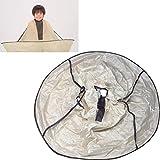 Haarschneideumhang HKFV Friseurumhang Erwachsener Haarschneiden Schirm Umhang Faltbar Haarschneideumhang Friseursalon Umbrella Cape für Haarschnitt Cloak Friseur Schürze