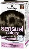 Schwarzkopf Sensual Colors Dauerhafte Coloration 400 Dunkelbraun, 3er Pack (3 x 142ml)