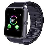 Yamay Bluetooth Smartwatch Uhr Intelligente Armbanduhr Fitness Tracker Armband Sport Uhr mit /Kamera/Schrittzähler/Schlaftracker/Romte Capture Kompatibel mit Android Smartphone