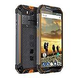 Outdoor Handy Ulefone Armor 3 (IP68 IP69K Smartphone Wasserdicht Stoßfest Staubdicht, 10300mAh Akku, 5.7 Zoll 4GB RAM + 64GB ROM, Dual SIM Android 8.1) Orange