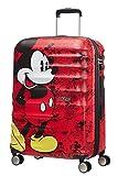 American Tourister - Disney Wavebreaker - Spinner Kindergepäck, 67 cm, 64 L, Mickey Comics Red