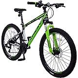 KRON XC-100 Hardtail Aluminium Mountainbike 26 Zoll, 21 Gang Shimano Kettenschaltung mit Scheibenbremse | 16 Zoll Rahmen MTB Erwachsenen- und Jugendfahrrad |...