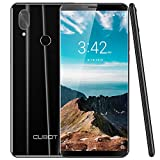 CUBOT X19 Smartphone ohne Vertrag (4000mAh Akku, 64GB Speicher, 4GB RAM, Dual-Kamera, Dual-SIM, 4G LTE, 5.93″ FHD Display, Android Oreo 8.1), (Schwarz)