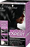 Schwarzkopf Color Expert Intensiv-Pflege Color-Creme, 1.0 Intensives Schwarz Stufe 3, 3er Pack (3 x 167 ml)