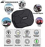 GPS Tracker , 5000MAH GPS Ortung, Wasserdicht Echtzeit tracking GPS Locator Professional Anti-verloren GPS Alarm Car Tracker für Auto lkw Moto Gefrier Boot mit...