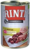 Rinti Kennerfleisch Hundefutter Rentier 400 g, 24er Pack (24 x 400 g)