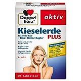 Doppelherz Kieselerde Plus / Zink und Selen als Beitrag für den Erhalt normaler Nägel / Biotin für Haare und Haut / 1 x 30 Tabletten