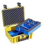 B&W outdoor.cases Typ 3000 mit GoPro Hero 2 / 3 / 4 Inlay - Das Original