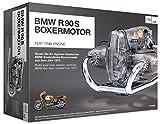 FRANZIS   BMW R 90 S Boxermotor   Motor Bausatz ab 14 Jahren   200-Teile - transparentes, voll funktionsfähiges Motormodell - reich bebildertes Handbuch   Basteln für Motorrad und Auto Fans