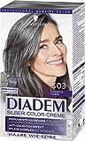 Schwarzkopf Diadem Seiden-Color-Crème, S03 Dunkles Silber Stufe 3, 3er Pack (3 x 142 ml)