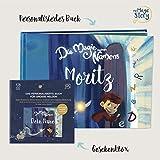 Geschenkbox - Die Magie meines Namens - Personalisierte Bücher für Kinder - Enthält Spielefiguren zum Ausschneiden!