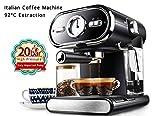 SHUHAO Italienische Kaffee Maschine Halbautomatische Hause Visualisierung Volle Temperatur Control 20BAR