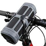 Fahrrad Lautsprecher, Venstar Bluetooth Lautsprecher Spritzwassergeschützt, 16W Treiber und Subwoofer, Unterstützt MicroSD/TF Karte, inkl. Halterung und Fernbedienung fürs Fahrrad