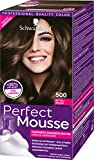 Perfect Mousse Permanente Schaumcoloration 500 Mittelbraun Stufe 3, 3er Pack (3 x 93 ml)
