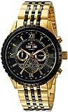 Burgmeister Armbanduhr für Herren mit Analog Anzeige, Automatik-Uhr mit Edelstahl Armband - Wasserdichte Herrenuhr mit zeitlosem, schickem Design - klassische Uhr für Männer - BM327-227 Denver