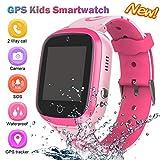 GPS Uhr Telefon,Kinder Smart Watch,GPS Smartphone für Jungen Mädchen - Uhr mit SOS Voice Anruf Sprachnachricht SOS Taschenlampe Digital Kamera Armbanduhr...