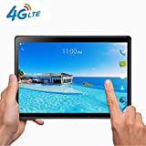 Tablet10Zoll, 25,65 cm (10,1) Tablets PC Android 7.0, 3G, HD, 4G LTE,Wifi,GPS,GSM,Octa Core,Dual Sim Card, 64GB+4GB,1920X1200 IPS, Black