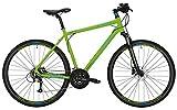 Crossbike Morrison X 4.0 Herren 28' 27-G hydraulische Shimano-Scheibenbremsen, Rahmenhöhen:M(50), Farben:Matt Green