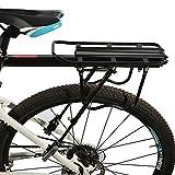 ROCKBROS Fahrrad Gepäckträger Mit Schnellspanner Sattelatütze