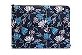 Lavolta Urban cb-lv15b Pattern Laptop Tasche Notebook Hülle für Apple Macbook Pro 13' / Apple Macbook Air 13' - Midnight Flowers