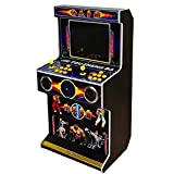Cabinet Arcade 3D Pandora's Box TV-Spielekonsolen Videoautomat Classic, 2 Spieler, 1280x720 Full HD Multiplayer Home Arcade Konsole, 2885 Spiele All in 1 Double...