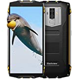 Blackview BV6800Pro Robust Smartphone (2018), IP69K 6580mAh Kabelloses Laden, Outdoor Smartphone Android 8.0 4GB RAM + 64GB ROM, 8MP + 16MP Kameras 18:9 FHD+ 5.7'' Display,Gelb
