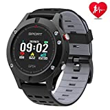 Smart Watch, Sportuhr mit Höhenmesser / Barometer / Thermometer und eingebautem GPS, Fitness Tracker zum Laufen, Wandern und Klettern, IP 67 Waterproof...