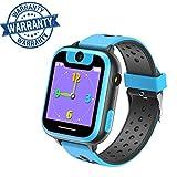 Kinder Smart Watch Phone mit Spiel Touchscreen Smartwatch für Kinder mit SIM Anruf Funktion für Jungen und Mädchen, 1.44 inch Touch LCD Kids Watch (Blau)