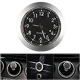 ONEVER Auto Uhr, Auto Air Vent Quarzuhr Mini Fahrzeug Armaturenbrett Uhr, 1,7 'Durchmesser