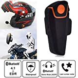 SayHia Motorrad Helm Headset Bluetooth 4.1 Motorrad Kopfhörer Mic Lautsprecher Freisprecheinrichtung Musik Headset Kopfhörer