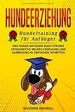 Hundeerziehung: Hundetraining für Anfänger - Das Hunde Ratgeber Buch für eine erfolgreiche Welpen Erziehung und Ausbildung in einfachen Schritten