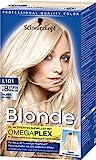 Schwarzkopf Blonde Aufheller L101 Silberblond Stufe 3, 3er Pack (3 x 170 ml)