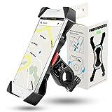 Grefay Fahrrad Handyhalterung, 3th Generation Universal Handy Halterung Outdoor Fahrradhalterung Motorrad Fahrrad Lenker Mit 360 Drehen Für 3,5-6,5 Zoll Smartphone GPS Andere Geräte (Fortgeschritten)